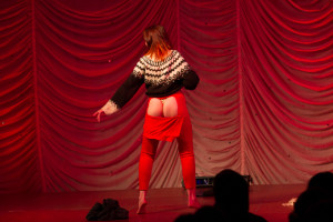 Scandal From Bohemia performing at the 2015 Great Burlesque Exposition day 1 show, The Rhinestone Revue