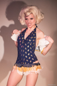 The One The Only Inga performing at Seattle Burlesque Show Decadence – A Raunchy Retrospective of Ten Years in Tease