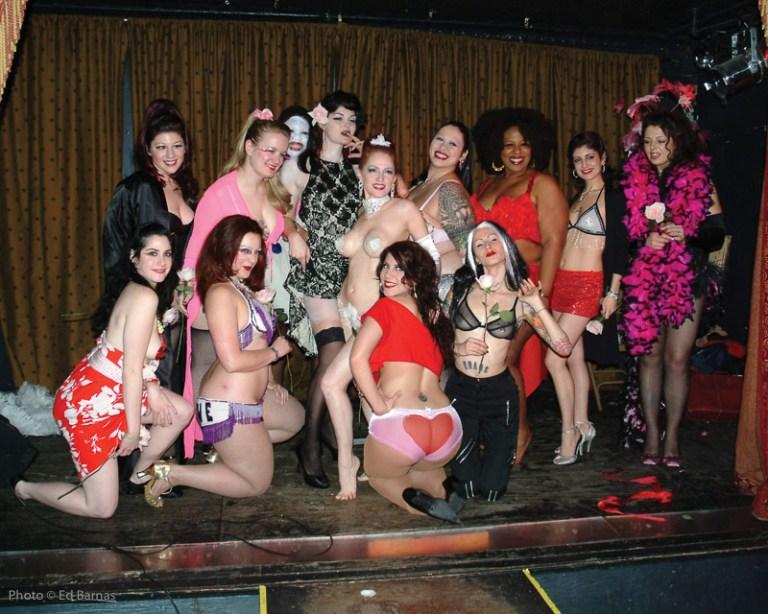 Jo Boob's School of Burlesque Student Showcase at the Slipper Room, 14 February 2006