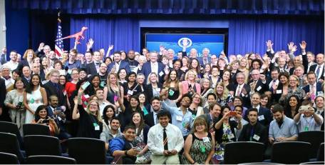 Where's Waldo? Find Ilsa in this photo from the White House