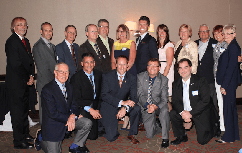 BCA board at Peter MacKay Fundraiser Dinner 2014