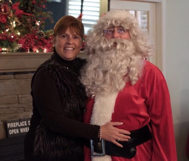 Caroline & Santa!