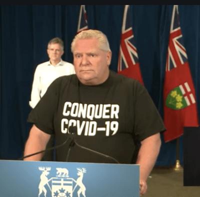 Doug Ford covid t shirt