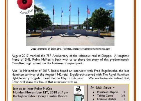 November 2018 Gazette