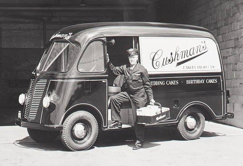 Cushman bakery truck