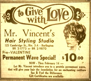 Mr. Vincent's Hair Styling Studio, Burlington MA