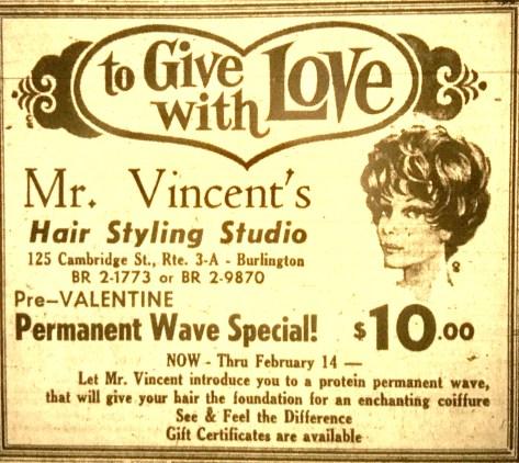 Mr. Vincent's Hair Styling Studio, Burlington MA