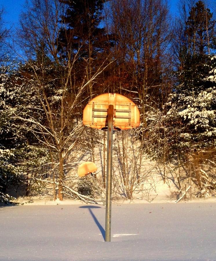 Basketball court behind 186 Middlesex Turnpike, Burlington MA