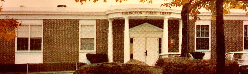 Burlington Library late 70s, Burlington MA