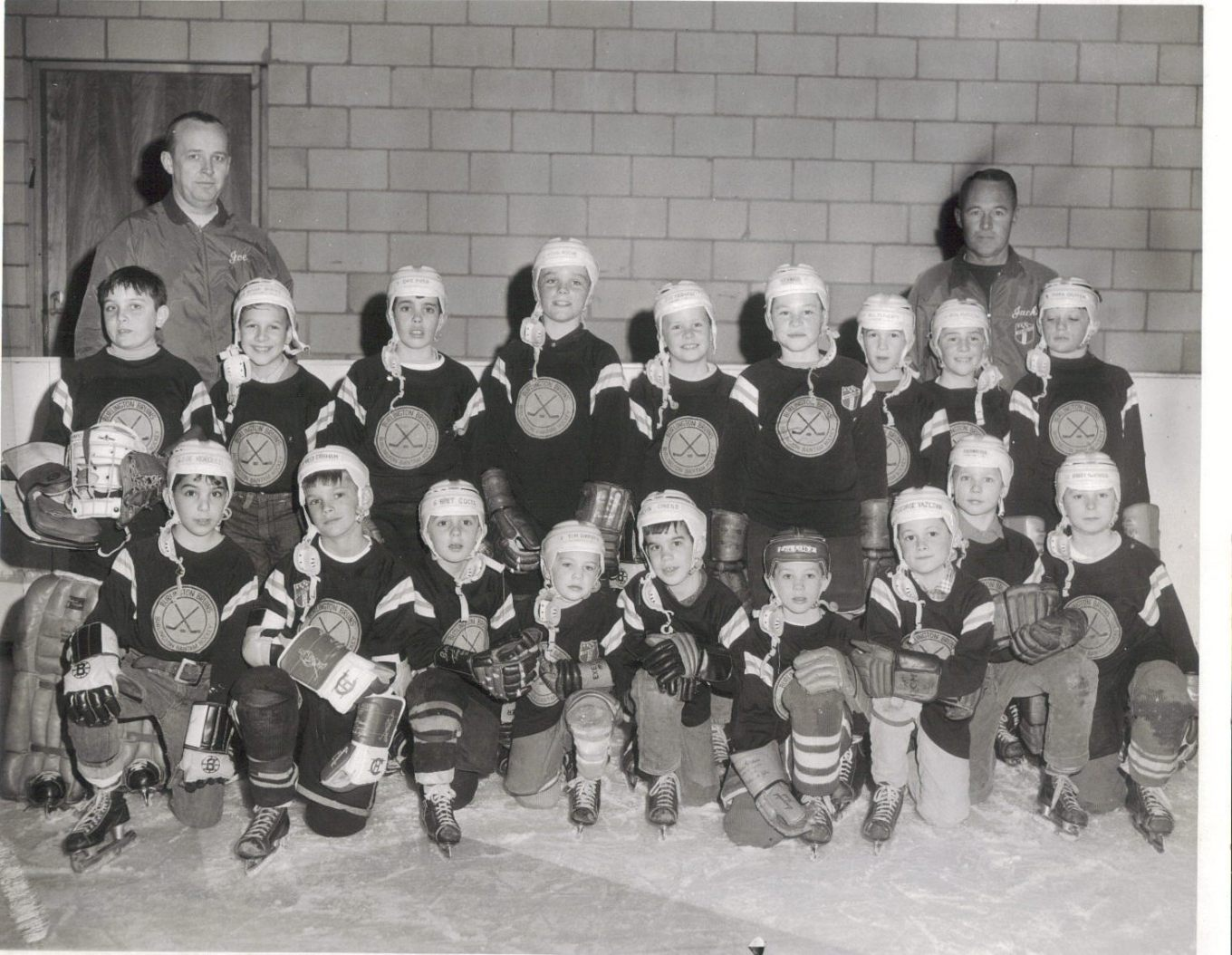 Burlington, MA youth hockey 1968-1969