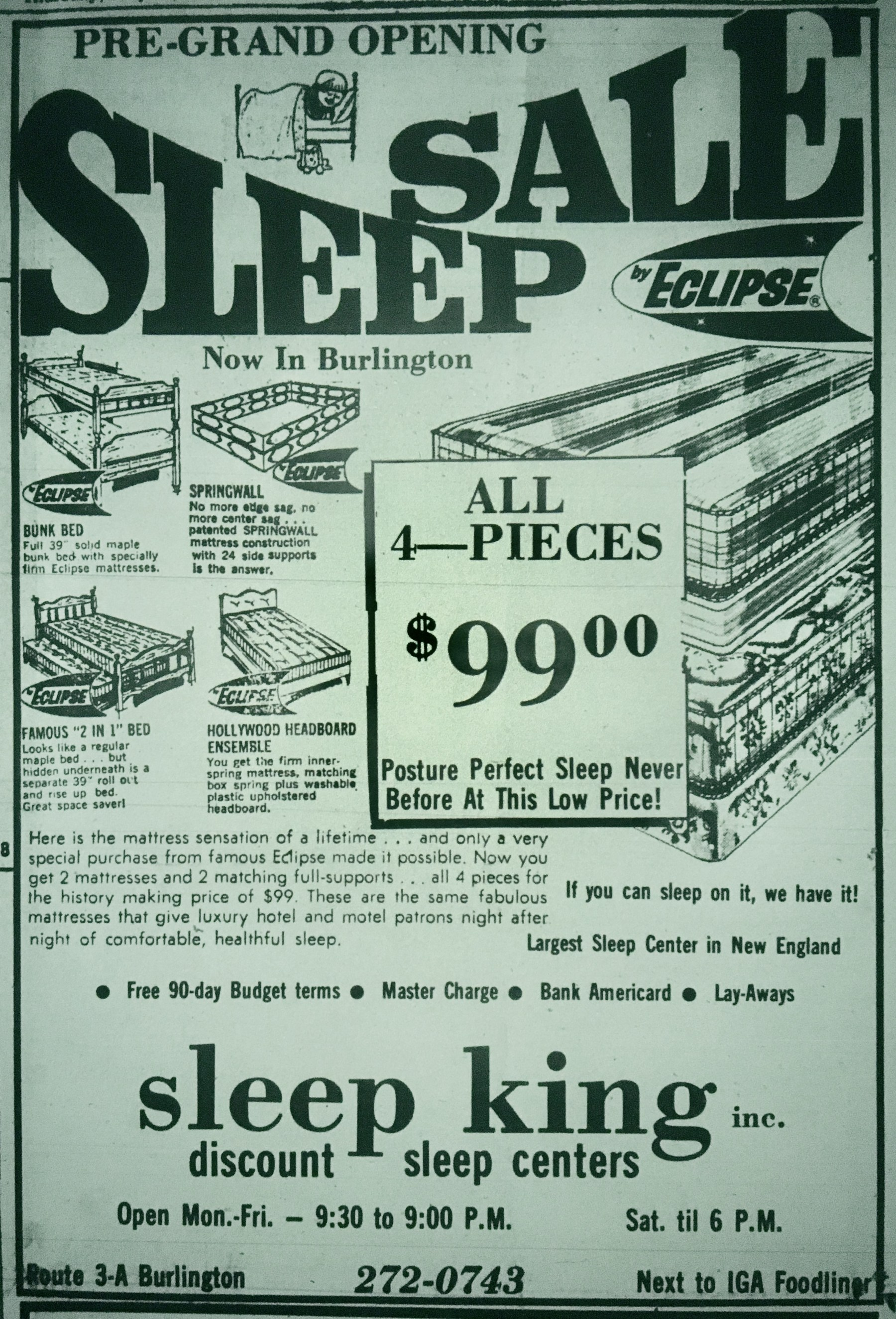 Sleep King Burlington MA