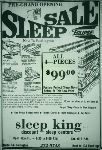Sleep King Burlington MA