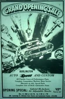 Auto Speed And Custom, Burlington MA