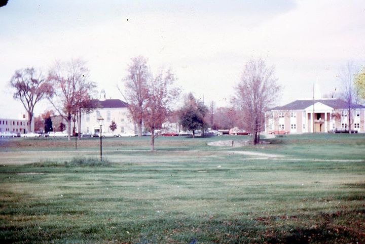 Burlington MA common, early 1960s
