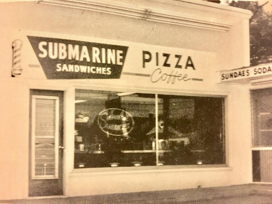 Pat's Sandwich Shop, 1962