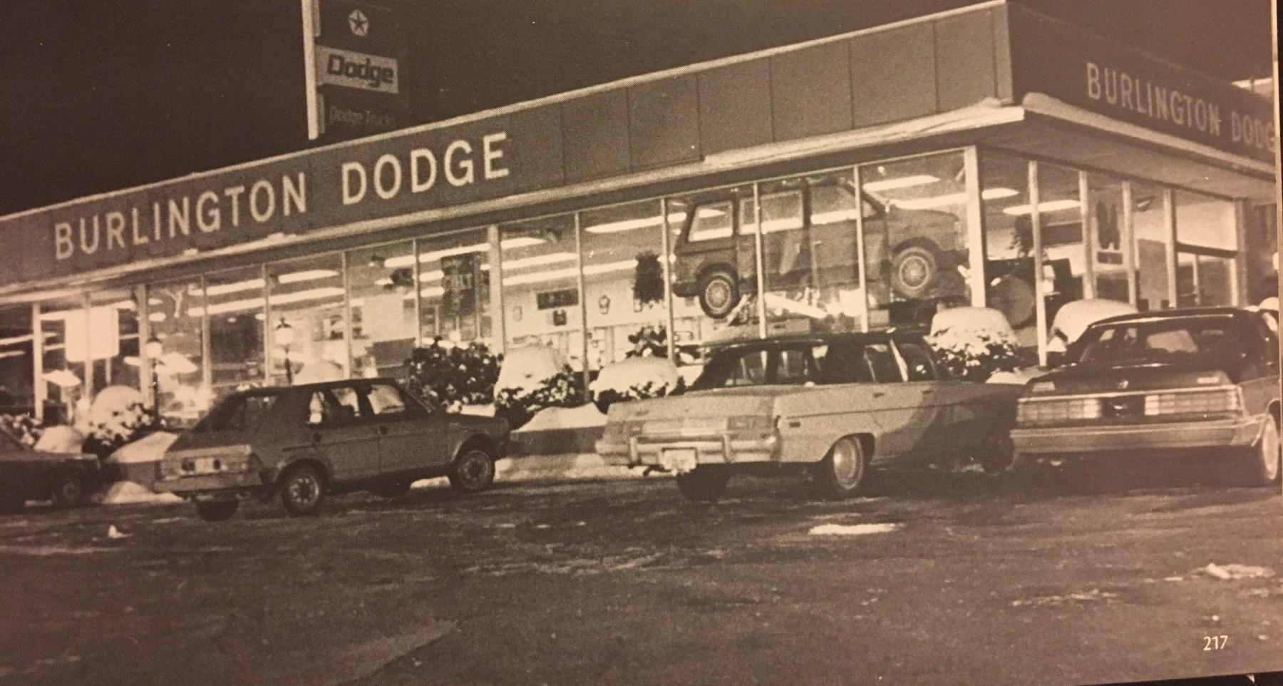 Late 1970s Burlington Dodge, Burlington, MA