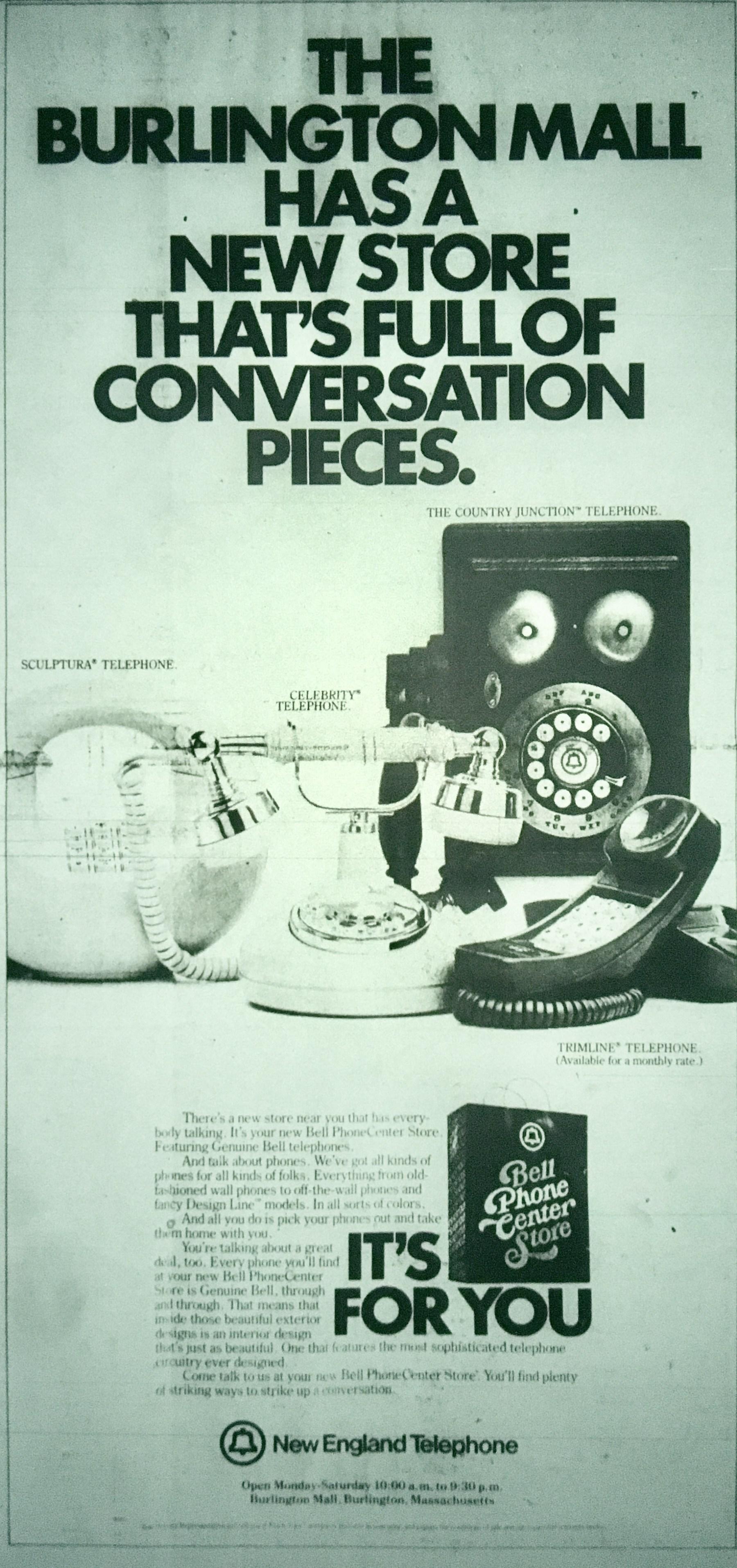 New England Telephone, Burlington MA