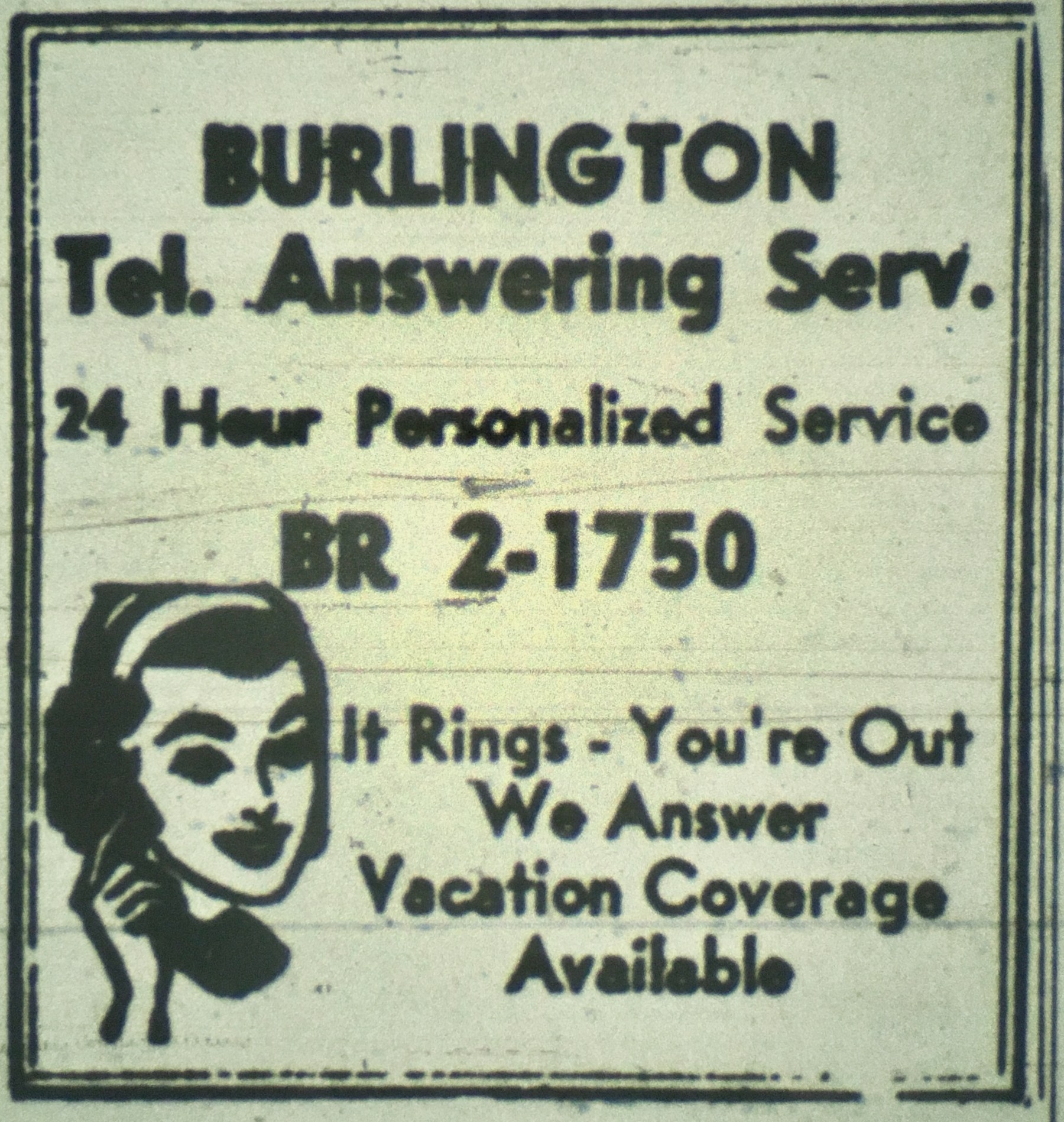 Burlington Telephone Answering Service