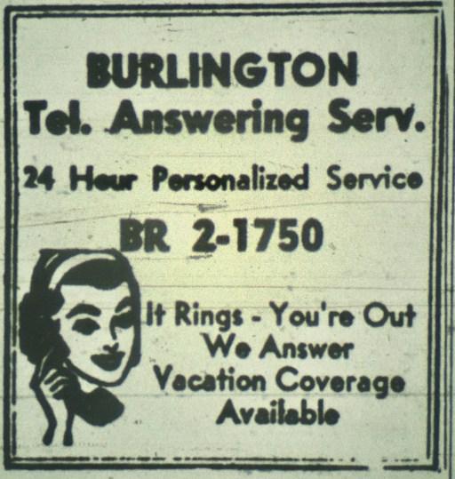Burlington Telephone Answering Service