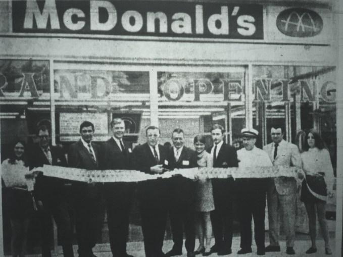 McDonald's grand opening Burlington MA