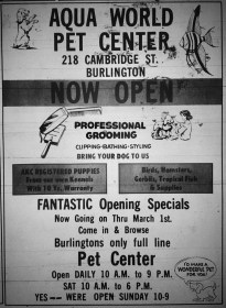 Aqua World Pet Center Burlington MA