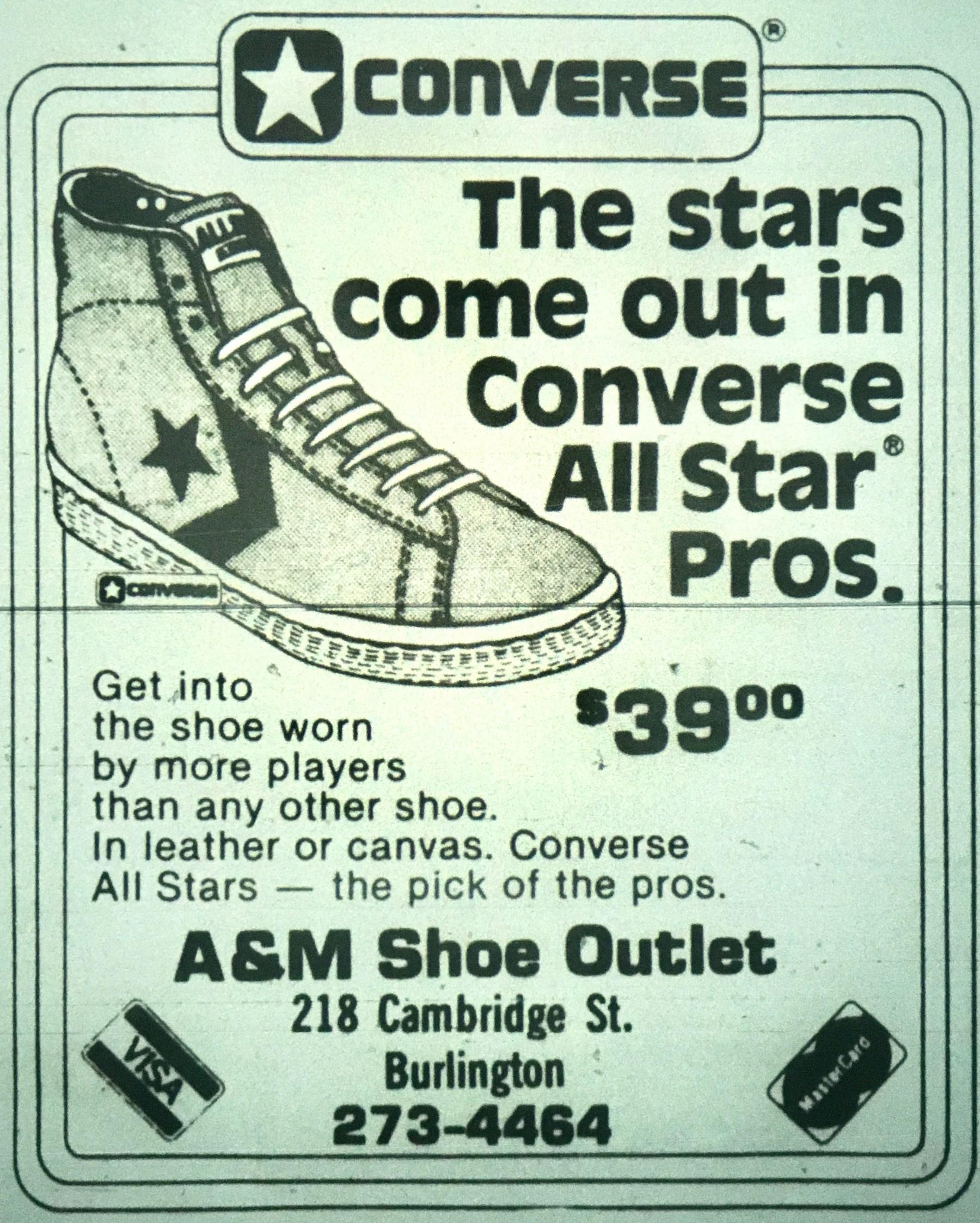 A&M Shoe Outlet, Burlington MA
