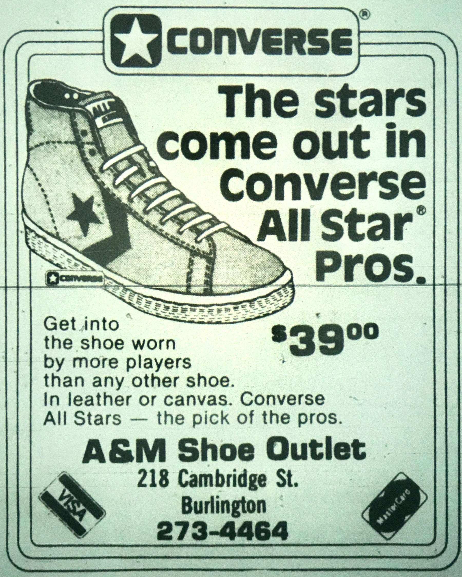 A&M Shoe Outlet, Burlington MA