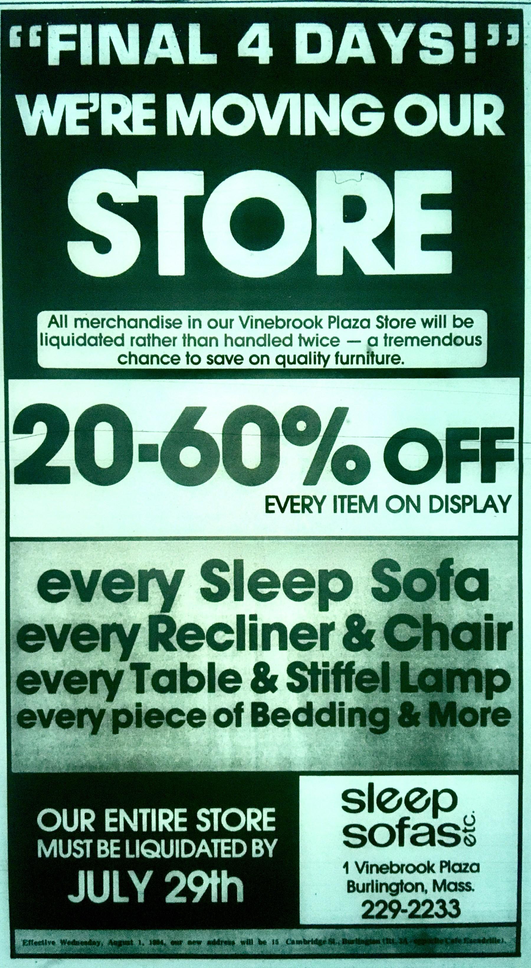 Sleep Sofas Etc., Burlington MA