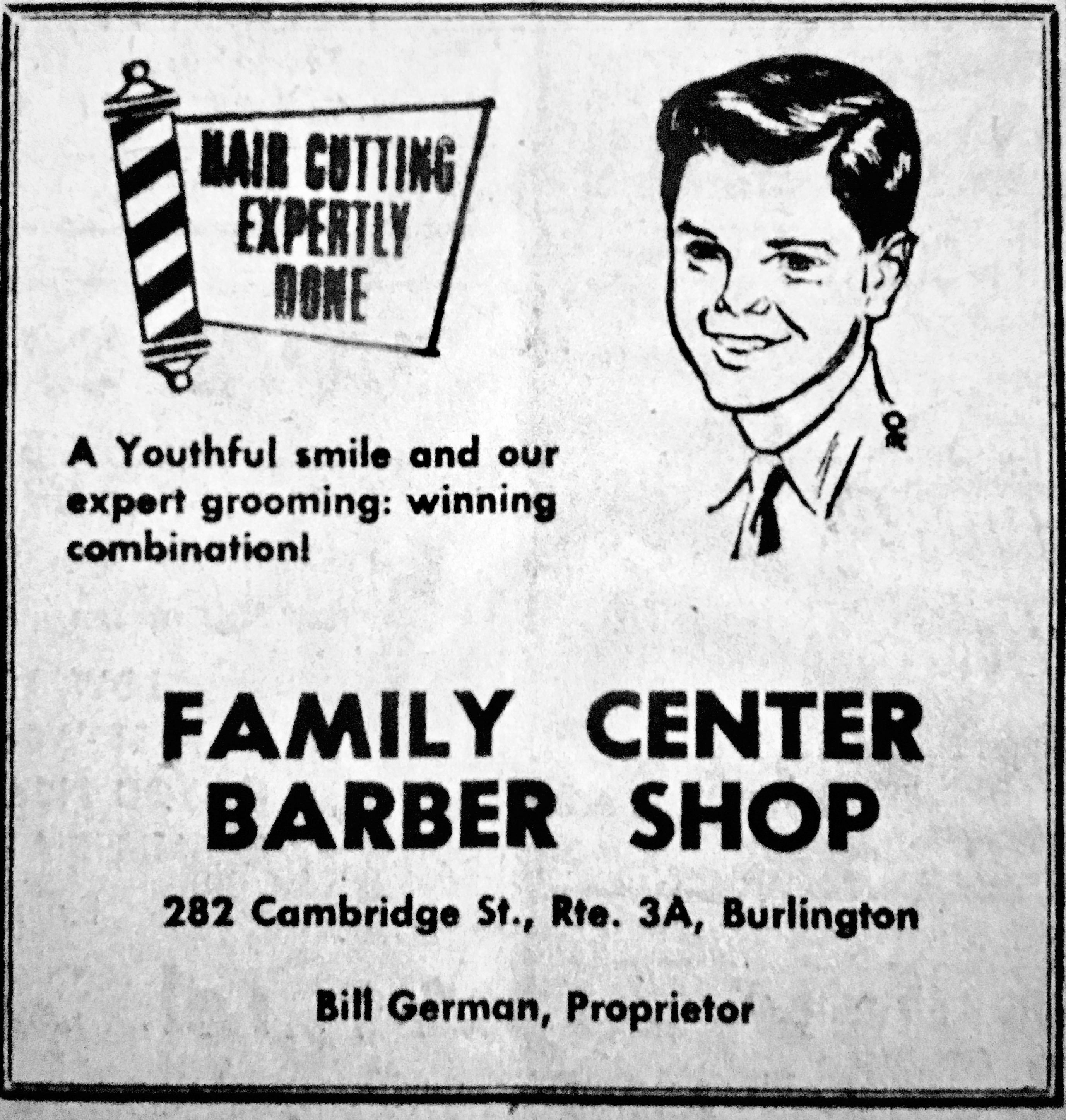 Family Center Barber Shop, Burlington MA