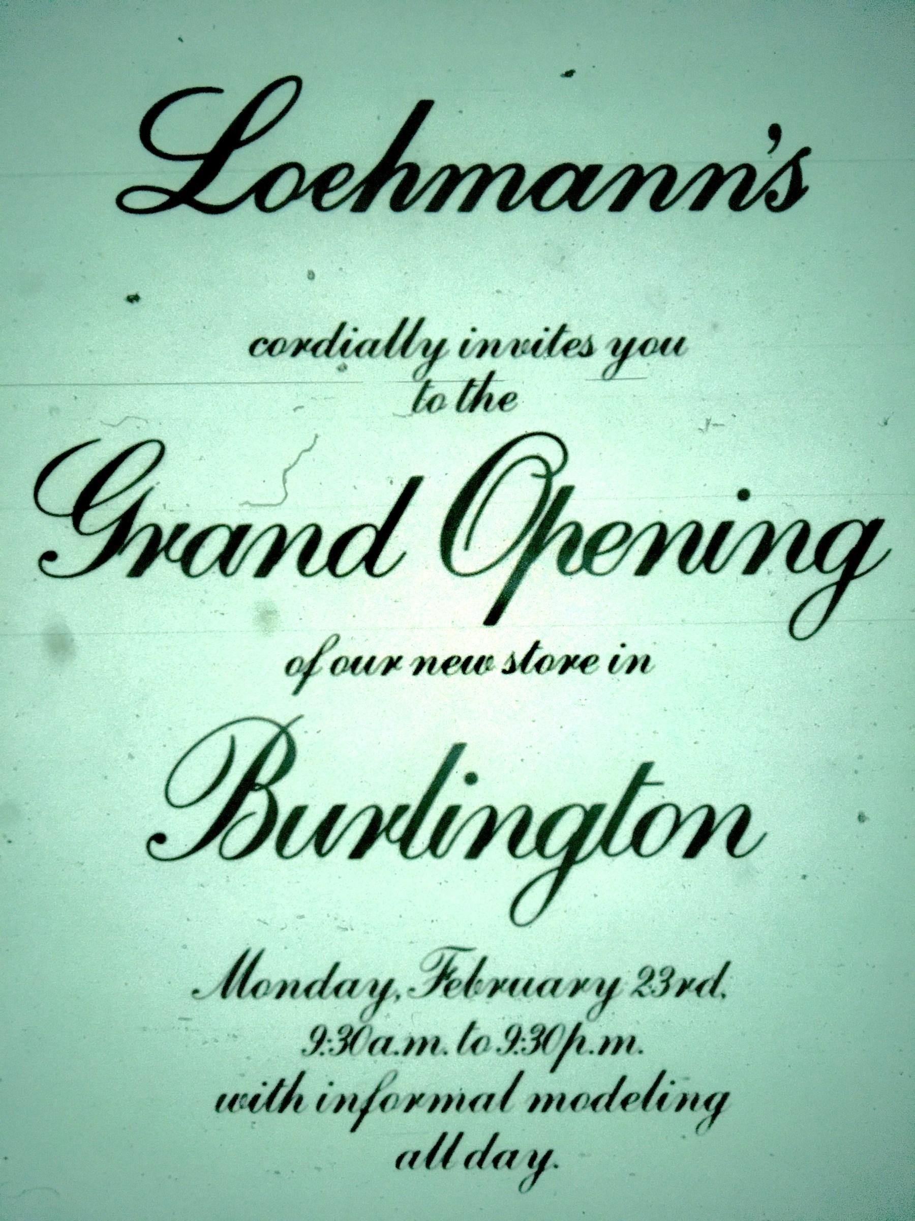 Loehmann's Burlington grand opening