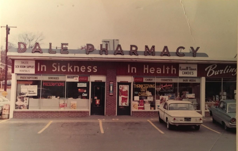 Dale Pharmacy 1957