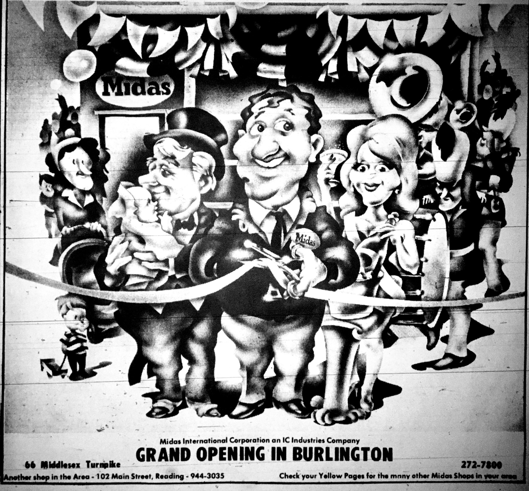Midas grand opening Burlington MA