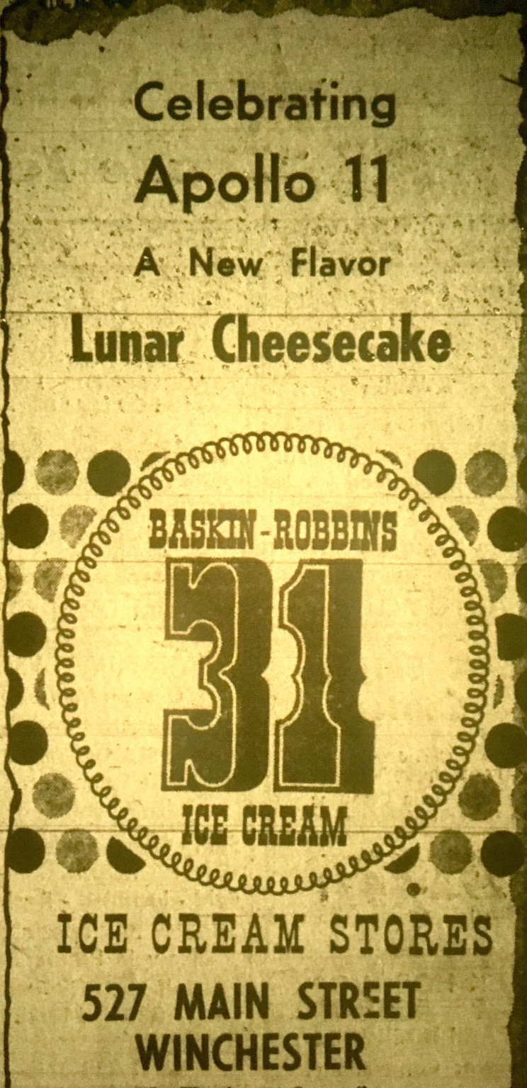 Lunar Cheesecake ad, Winchester