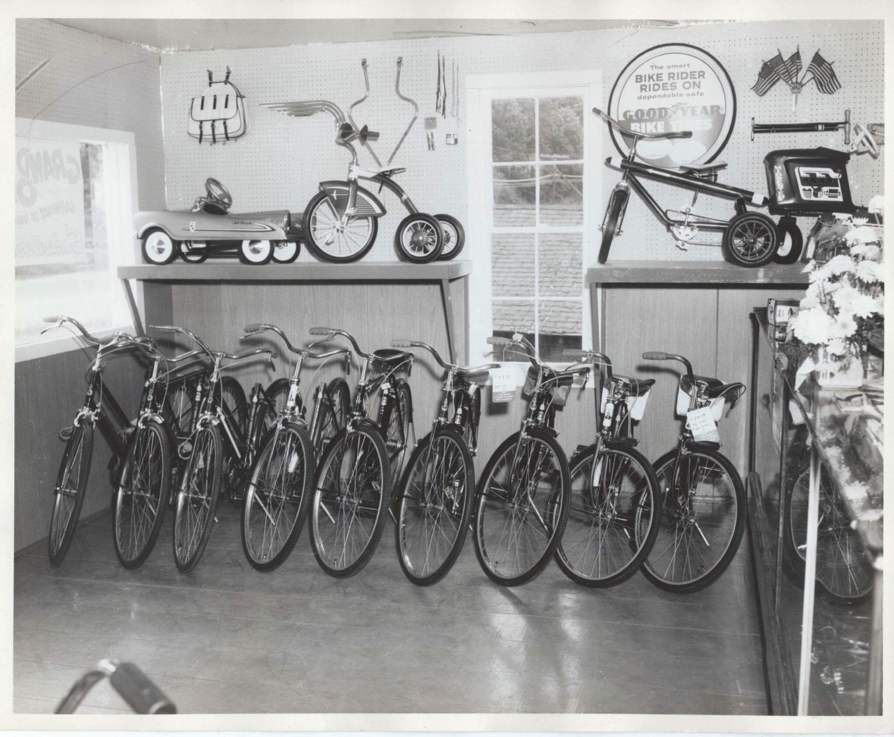 Neilsen's Bicycle Shop inventory, Burlington MA