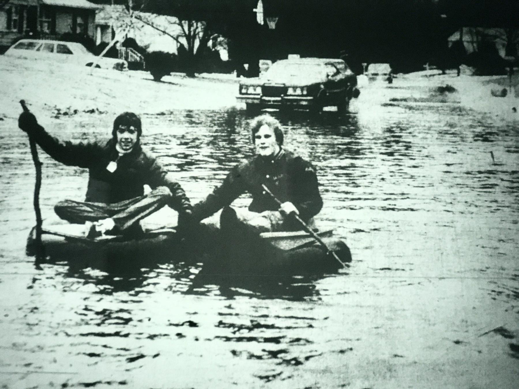 Ellen Road flooding 1979