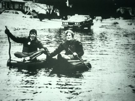 Ellen Road flooding 1979