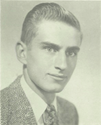 George Neilsen yearbook pic