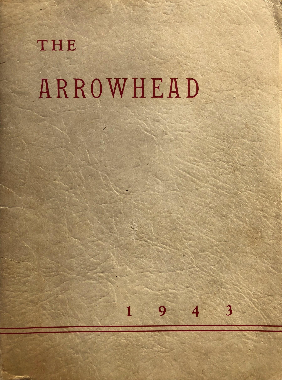 1943 Burlington High School yearbook cover