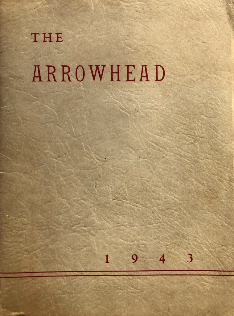 1943 Burlington High School yearbook cover