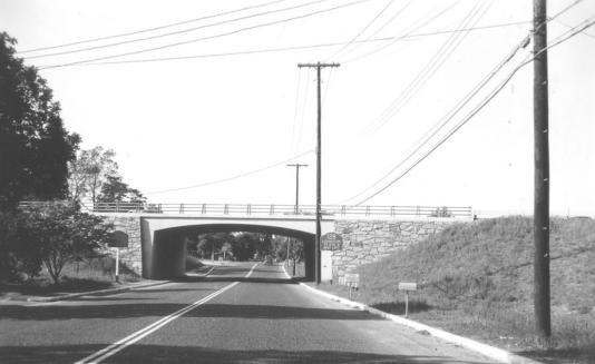 Winn St. overpass, 1951