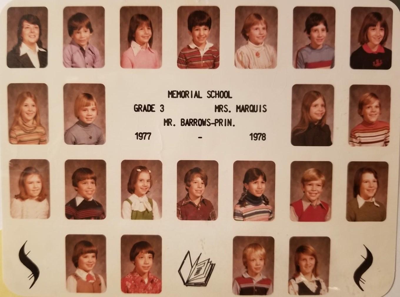 1977 Memorial School Burlington MA Marquis