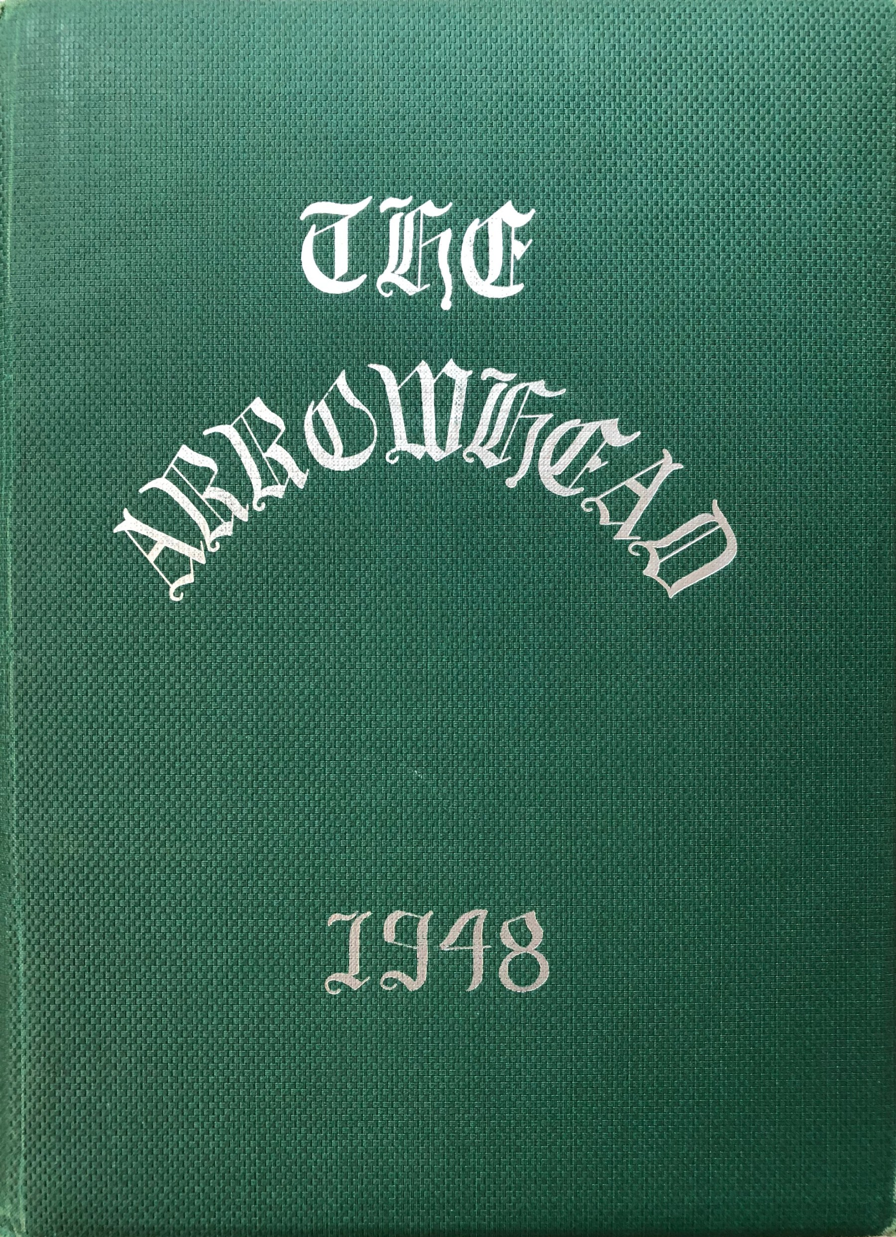 1948 Burlington High School yearbook cover