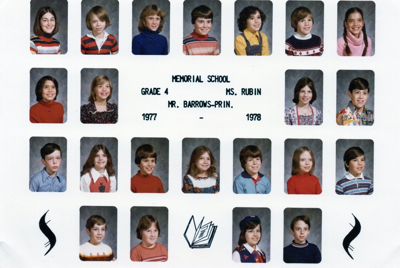 1977 Memorial School Burlington MA Rubin