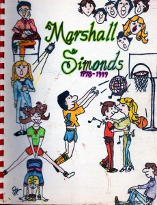 Marshall Simonds Middle School Burlington MA yearbook 1978-1979