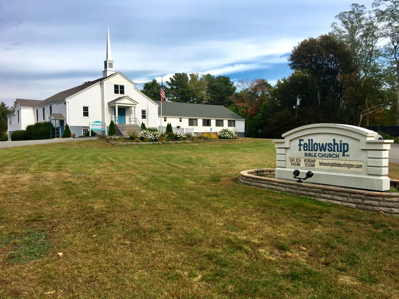 Fellowship Bible Church, Burlington MA