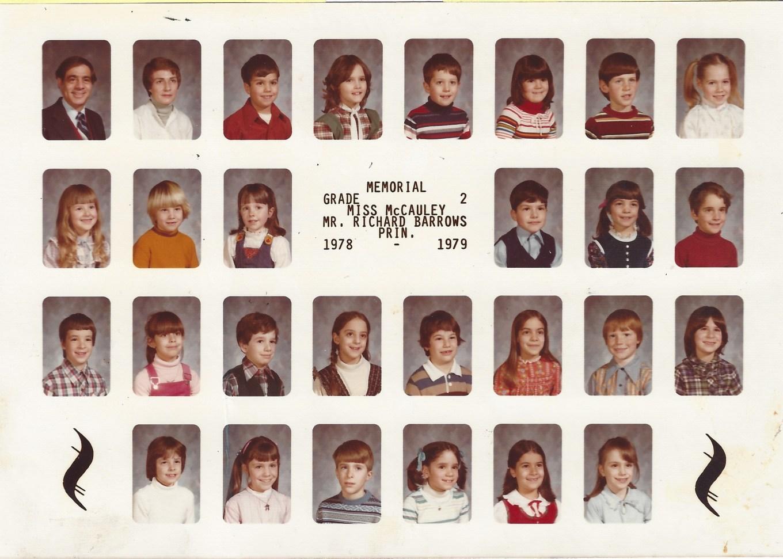 1978 Ms McCauley, Memorial School Burlington MA