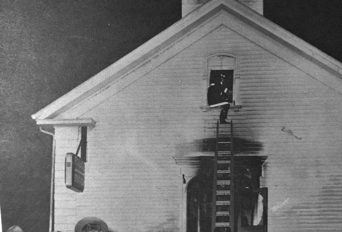 Burlington Police Station firebombing