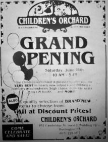 Children's Orchard, Burlington MA. This strip is now the condo complex adjacent to Shoppes at Simonds Park