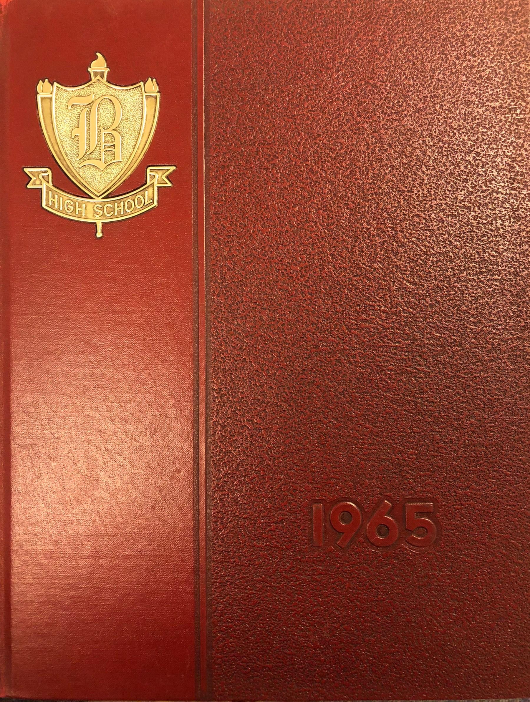 Burlington High School Burlington MA 1965 yearbook