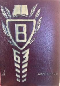 Burlington High School Burlington MA 1963 yearbook